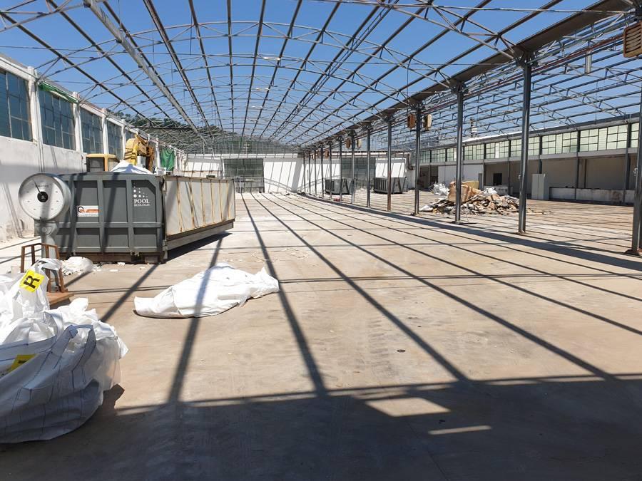Pulizia capannoni e aree industriali